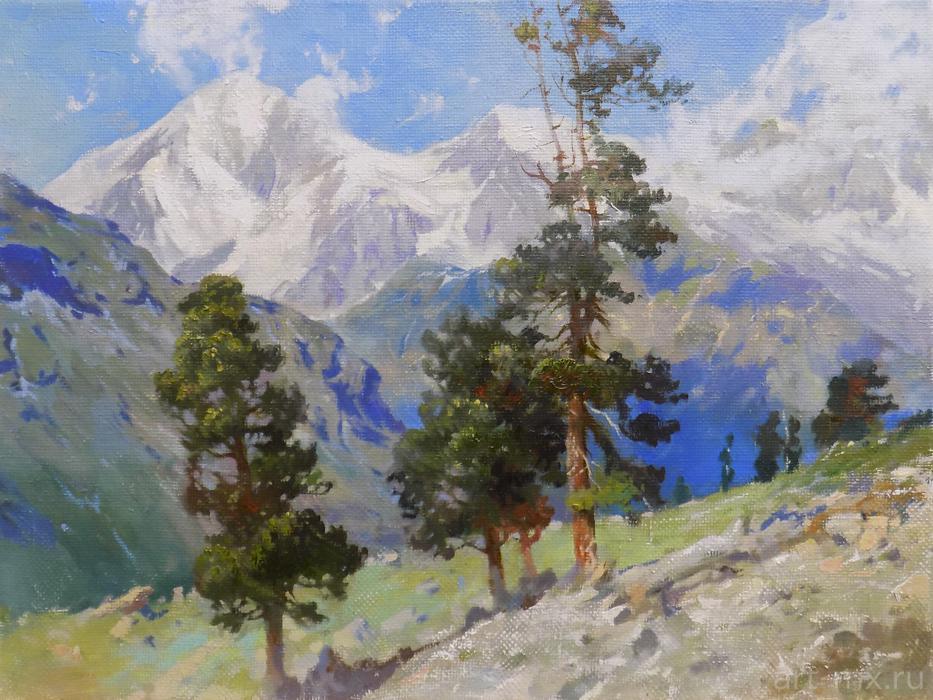 Картины с пейзажами гор - купить в СПб
