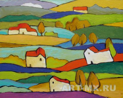 Пейзажи современных художников России