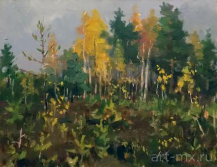 Картины с красивыми лесными пейзажами