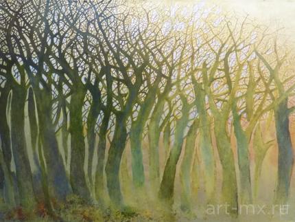 Картины с изображением Деревьев современных художников