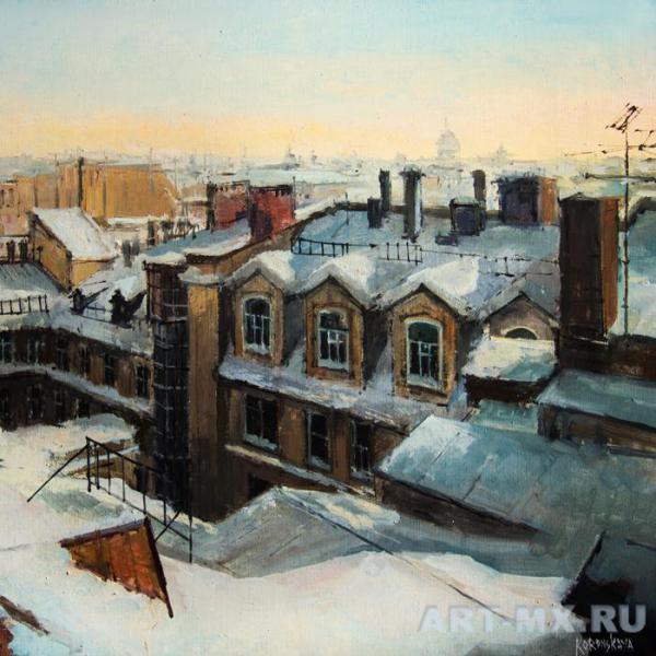 Петербург в картинах художников