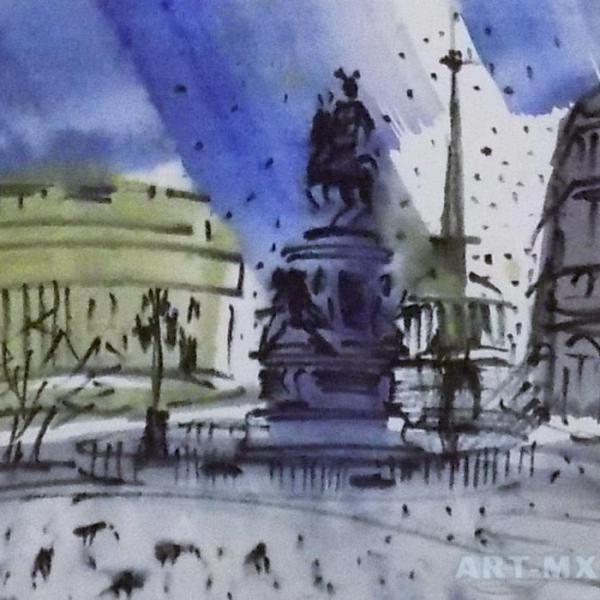 Картины с видами Санкт-Петербурга купить недорого