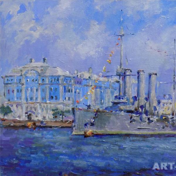 Картины с видами Петербурга