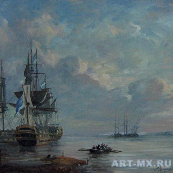 Море картины русских художников.