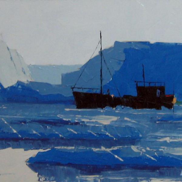 Жанр морской пейзаж. Картины с кораблями для романтиков