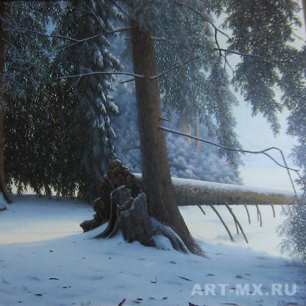 Картины с деревьями
